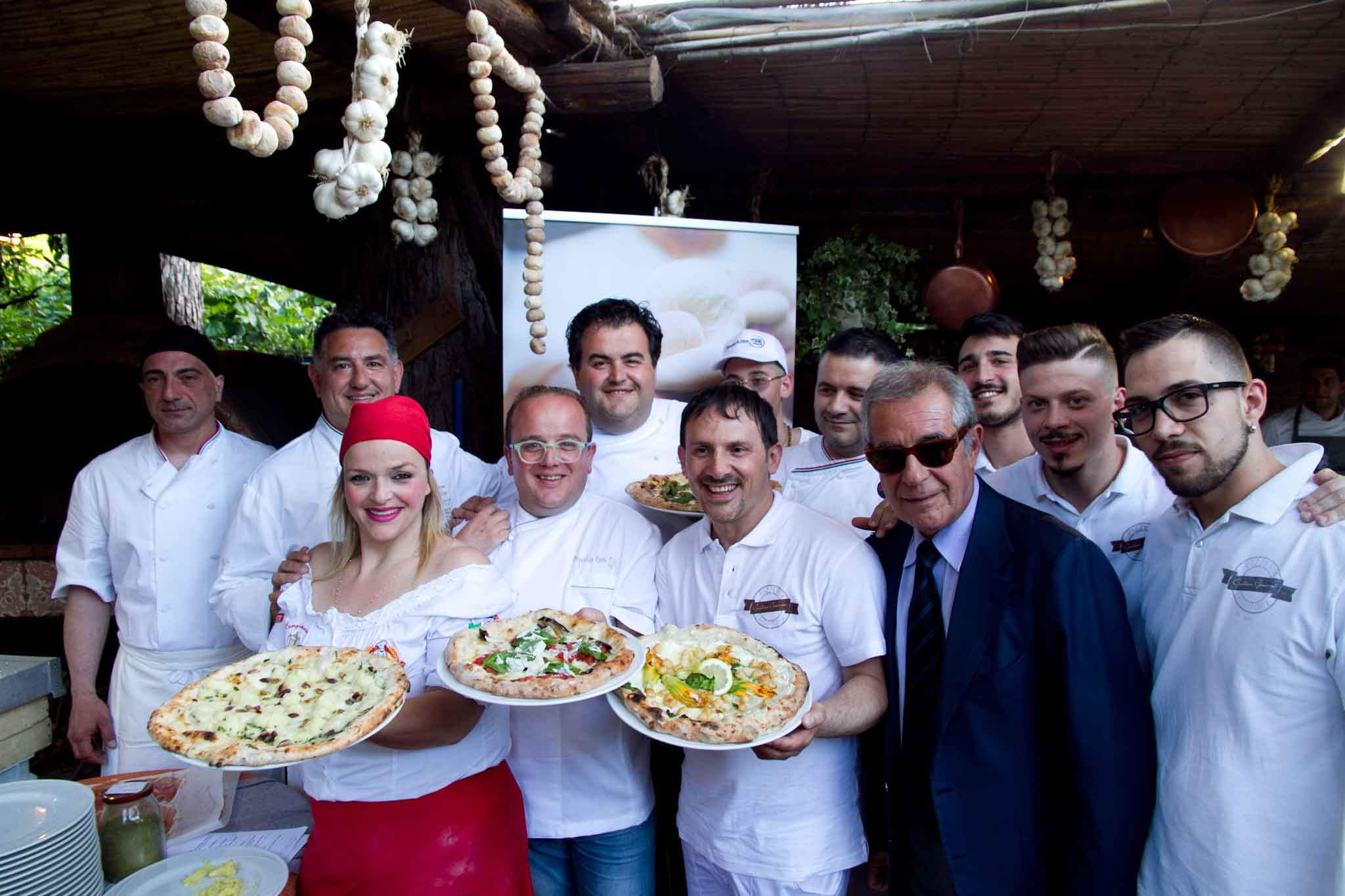 pizzaioli Carmine Caputo