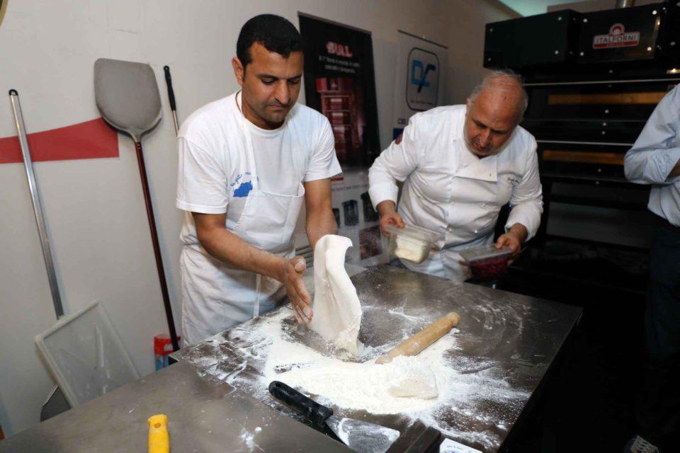 pizzaiolo egiziano