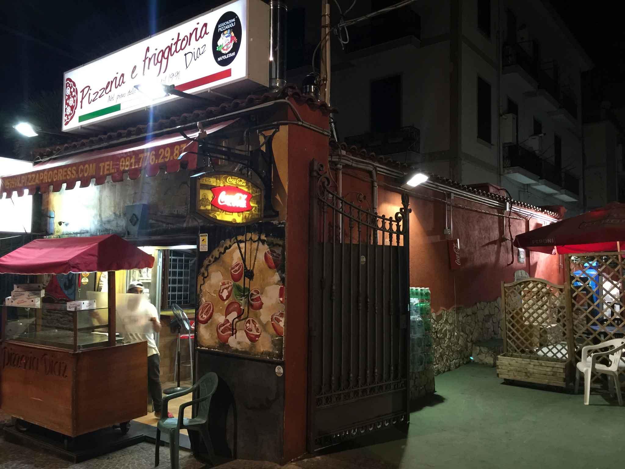 pizzeria Diaz Portici Napoli