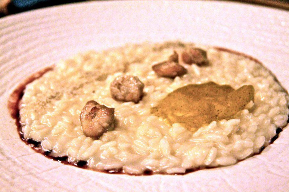 risotto con animelle equo supper milano