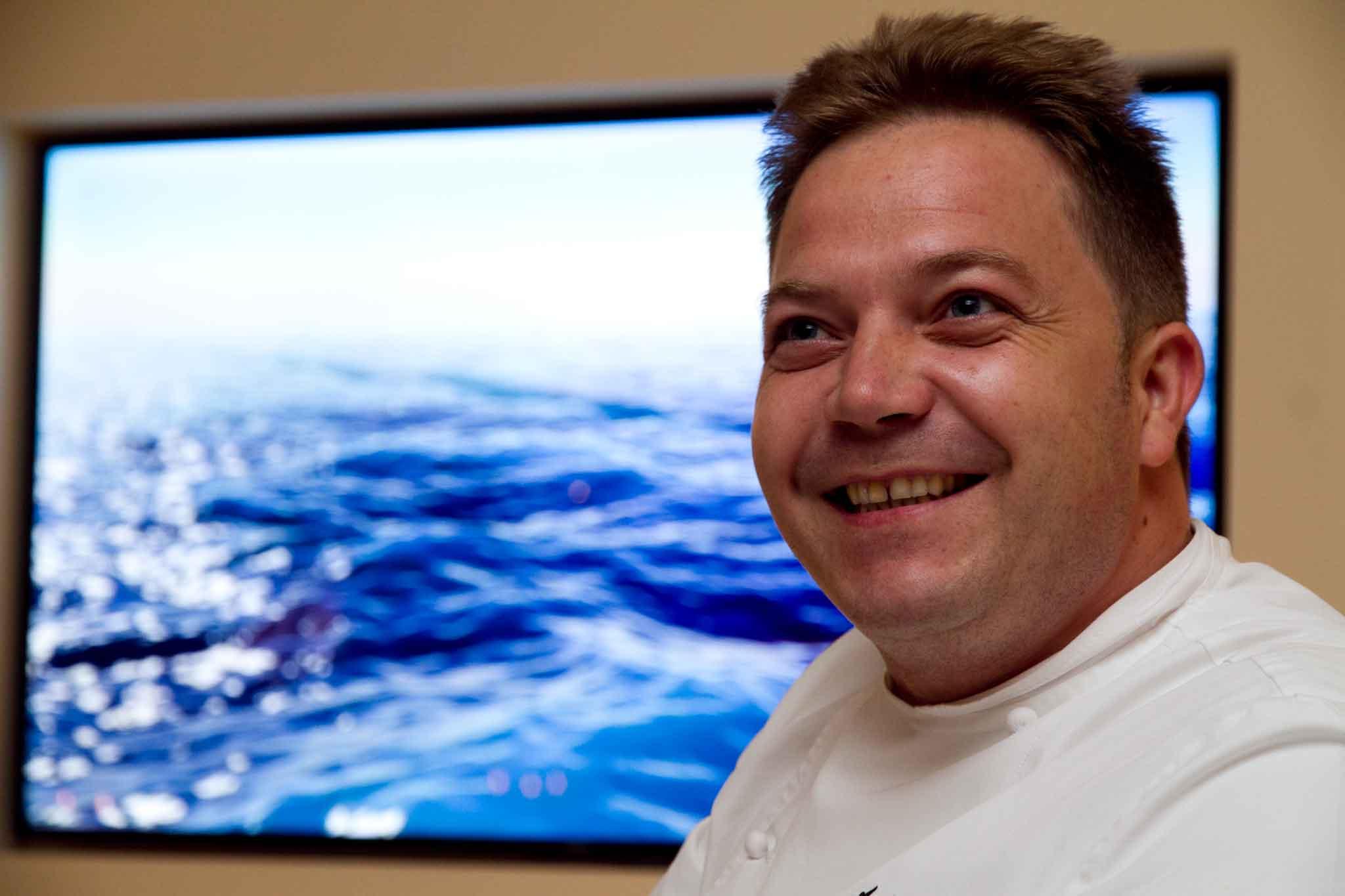 Andrea Migliaccio chef Olivo Capri Palace
