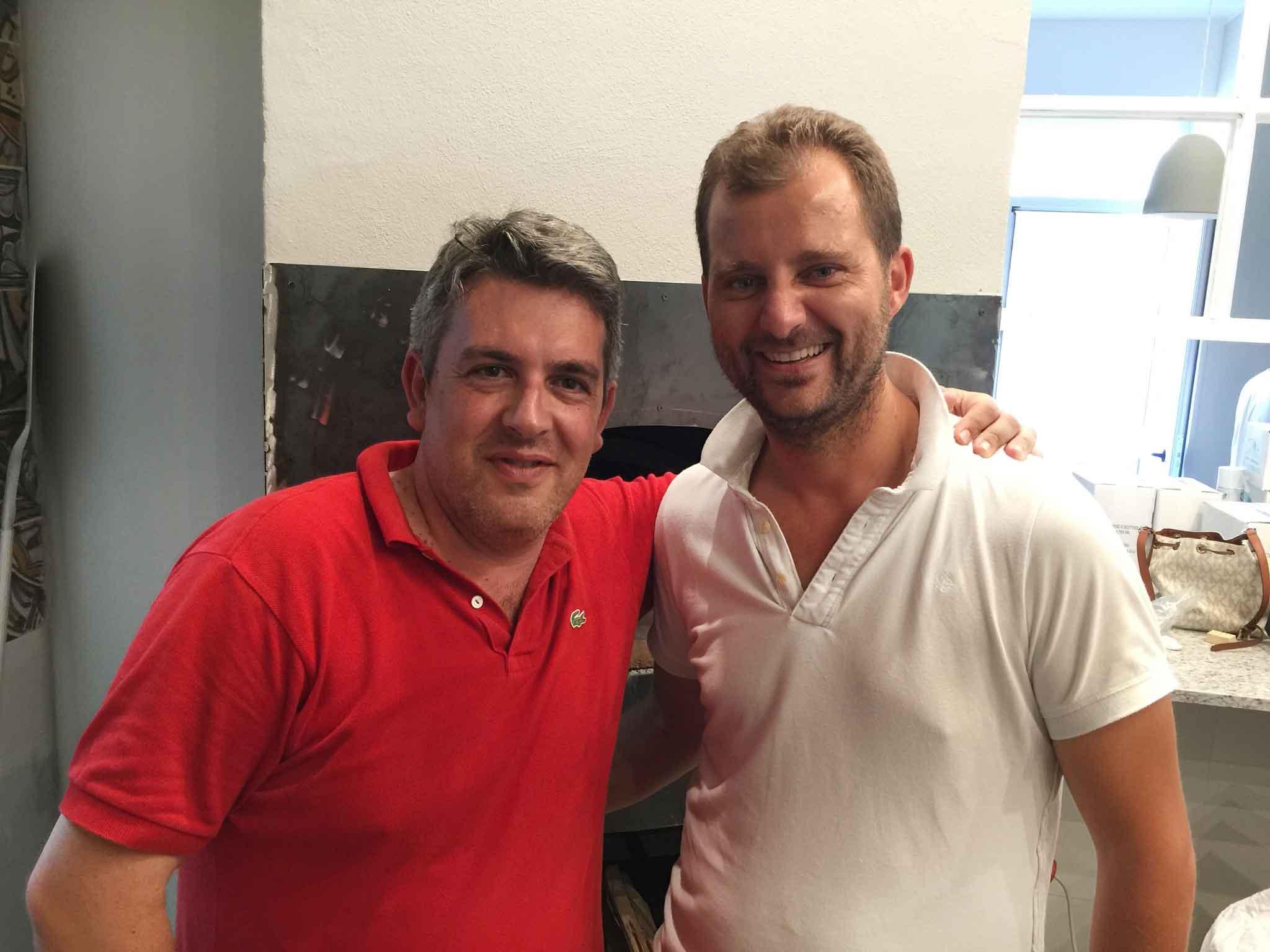 Carmine Mainenti e Paolo De Simone