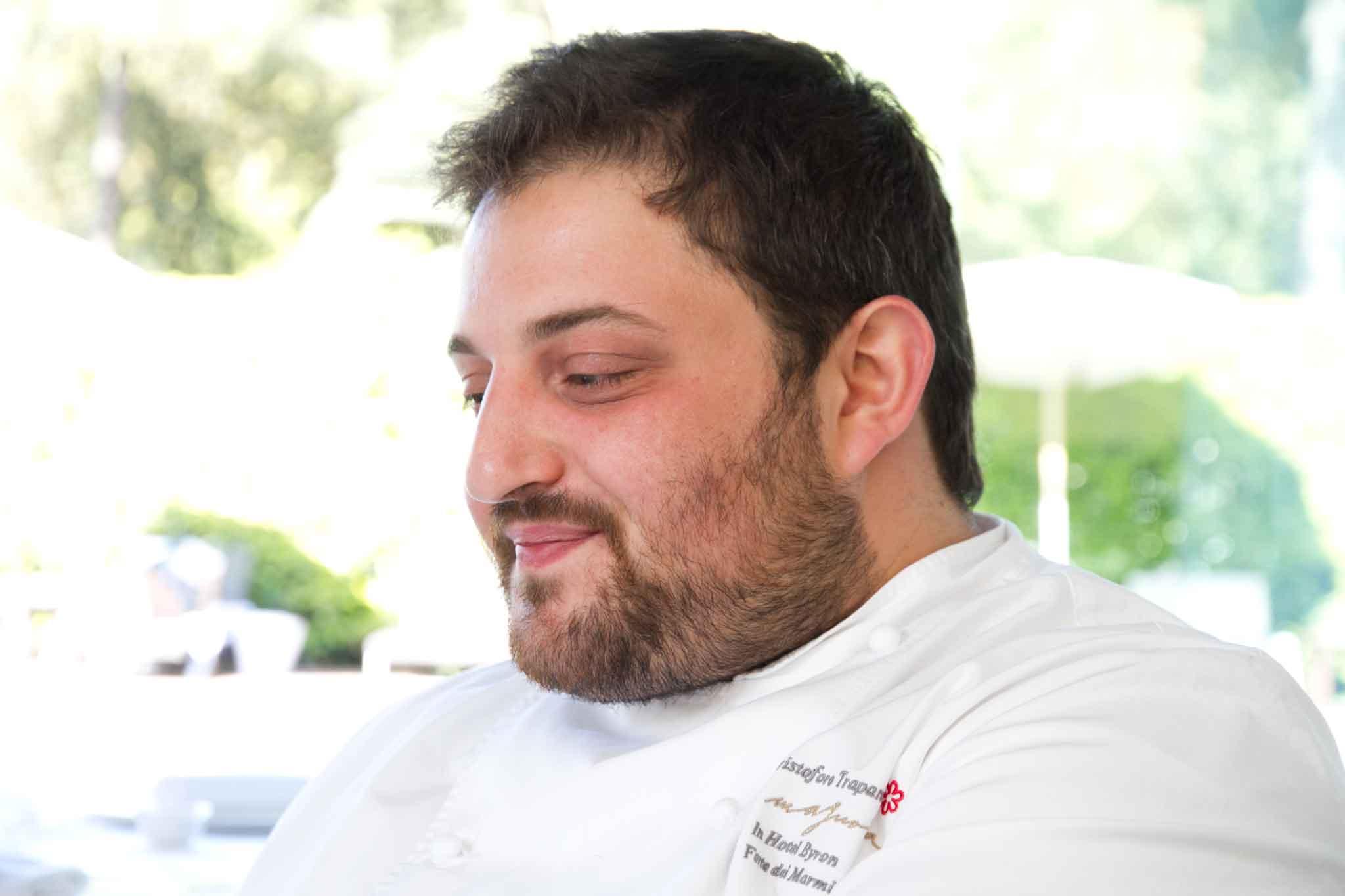 Cristoforo Trapani chef stella Michelin Magnolia