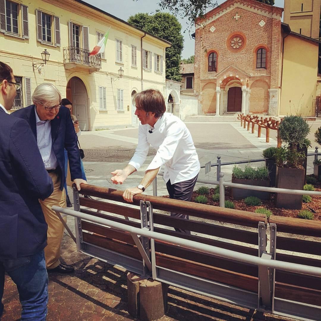 Davide Oldani Vittorio Sgarbi