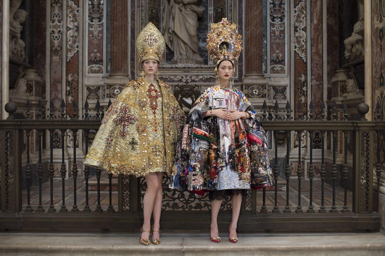 Dolce&Gabbana sfilata Napoli