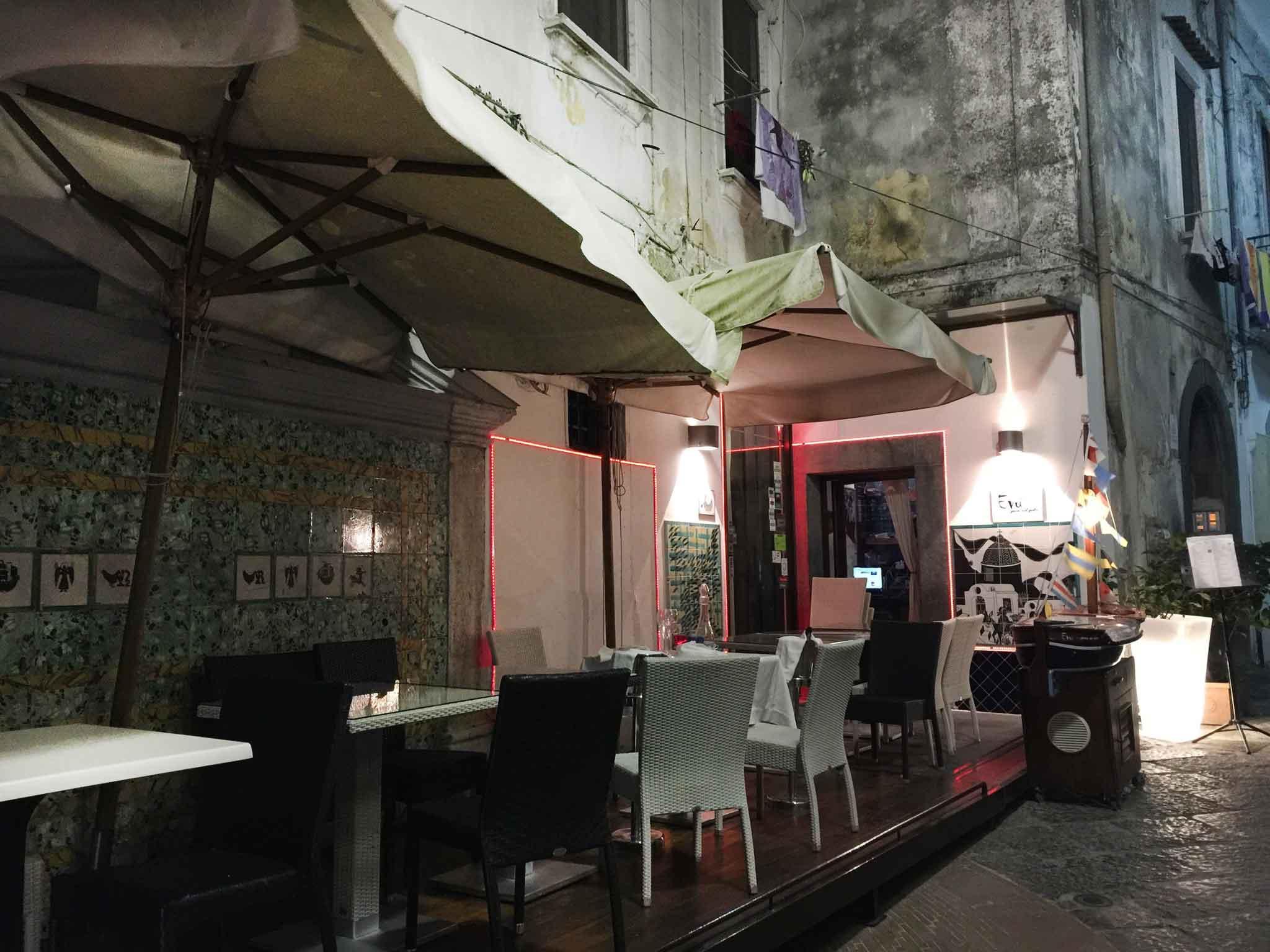 Evù ristorante Vietri sul Mare