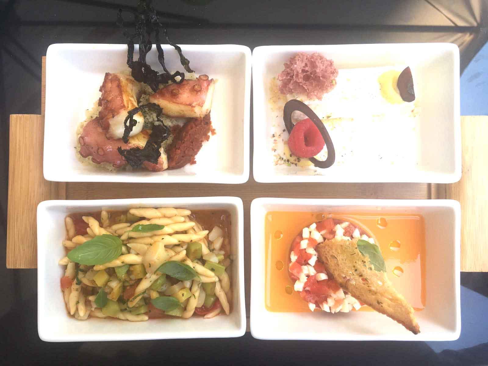 Hotel Bulgari ristorante piatti