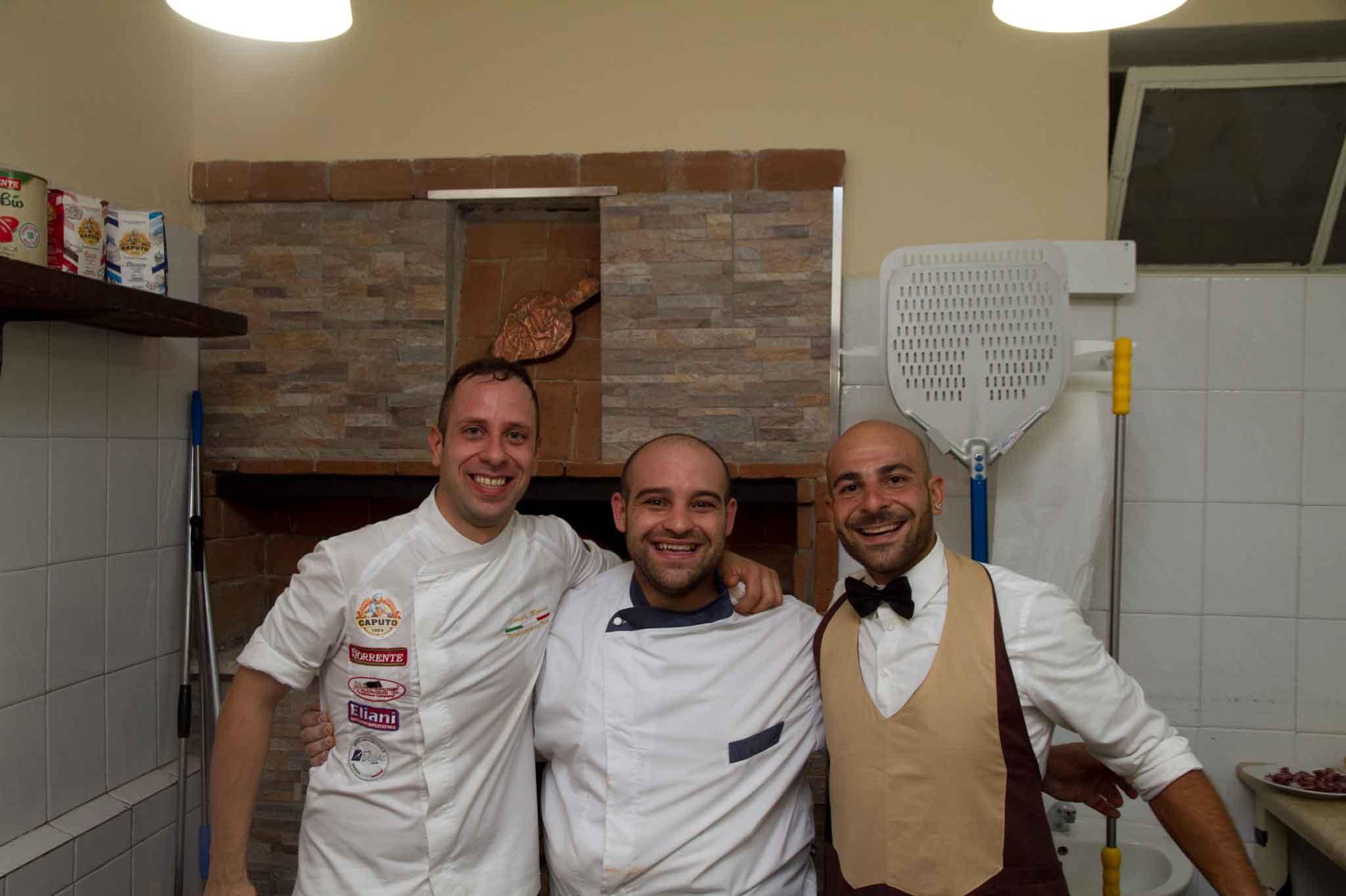 Marco Attanucci pizzeria La Spiga