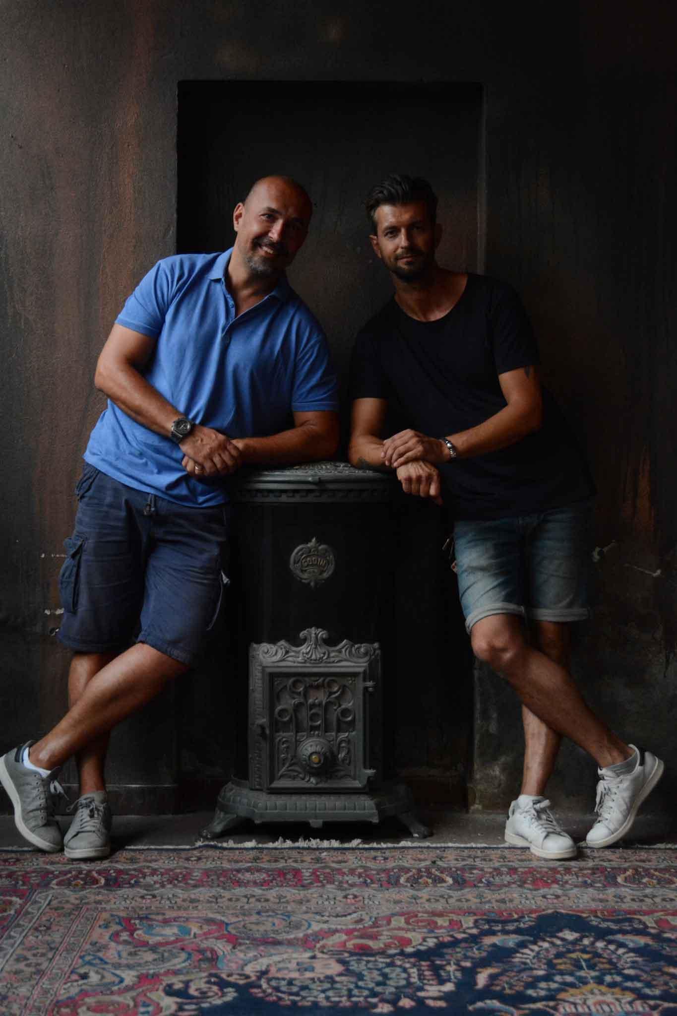 Raffaello Polchi e Matteo Pedrocchi
