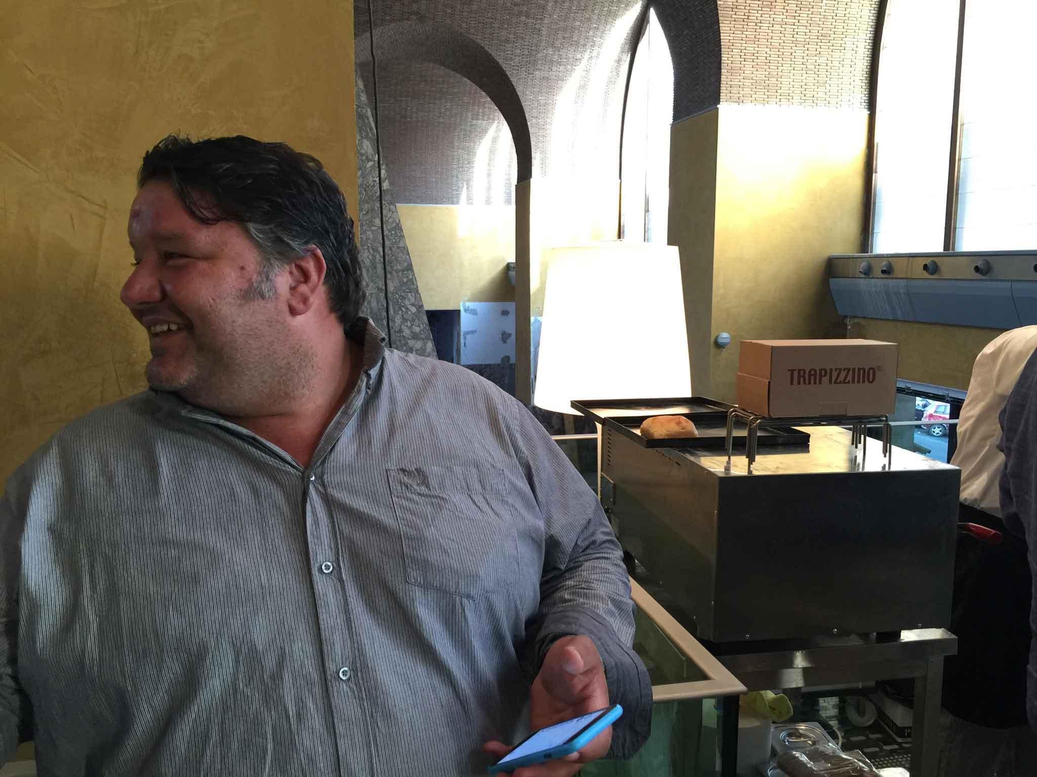 Stefano Callegari pizzaiolo
