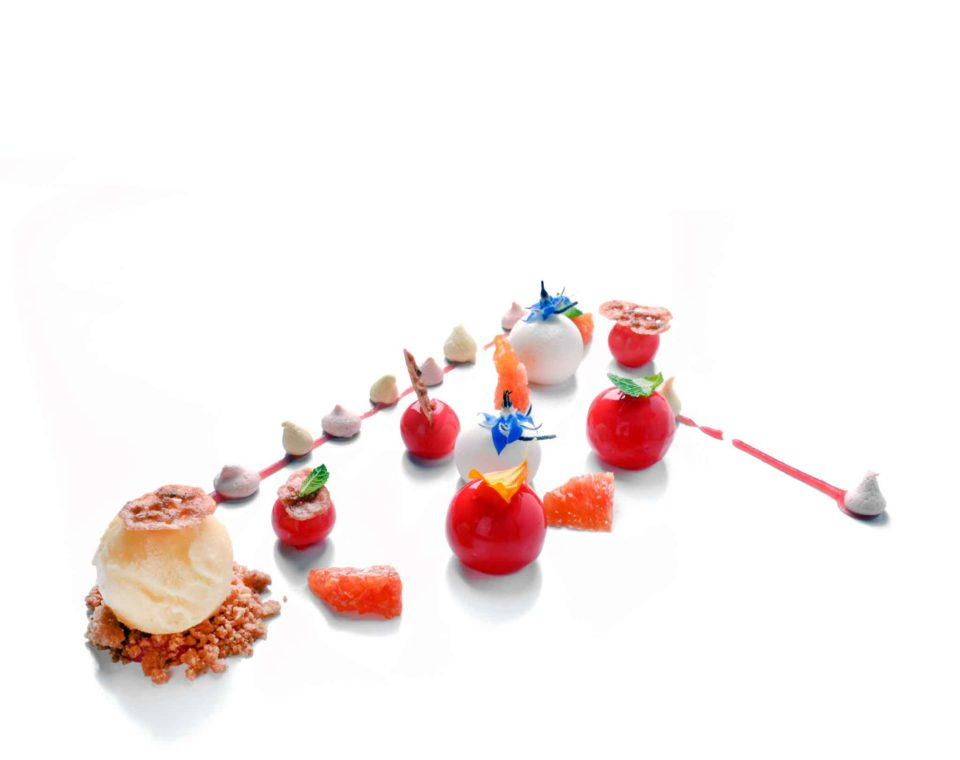 agrumi trasaprenza di mandorla dessert frutta vincenzo guarino