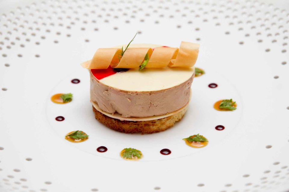 foie gras marinato l'Olivo Capri