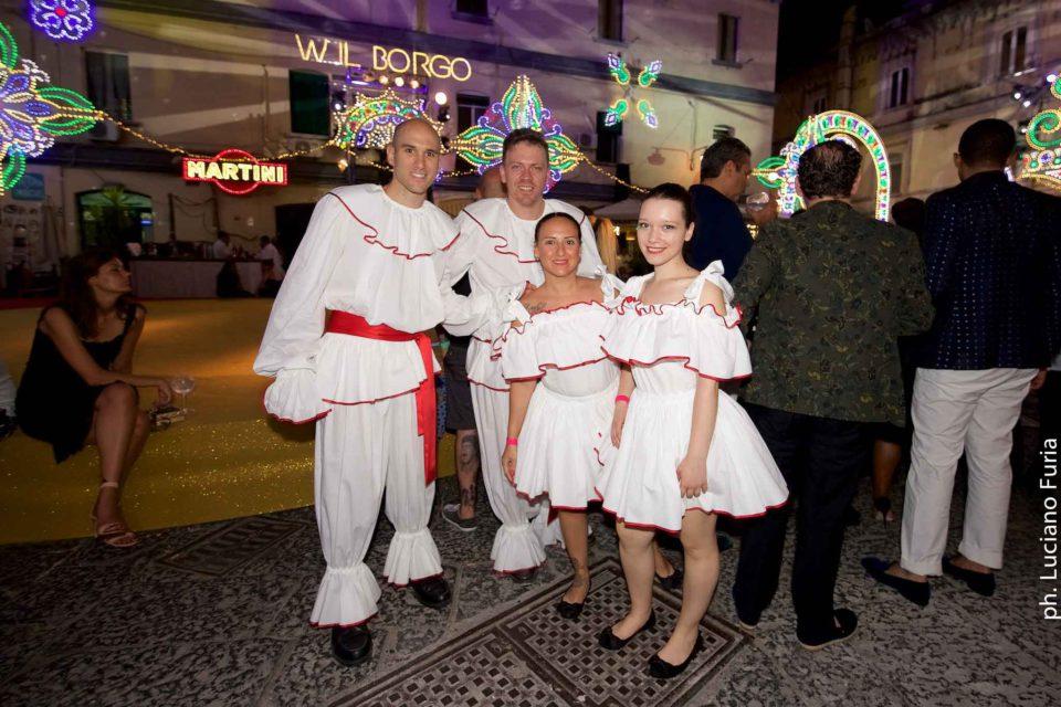 la festa di Dolce e Gabbana a Napoli Borgo Marinari 11