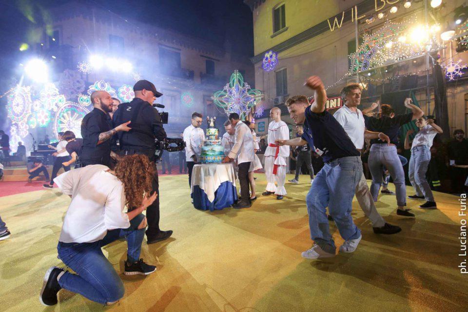 la festa di Dolce e Gabbana a Napoli Borgo Marinari 12