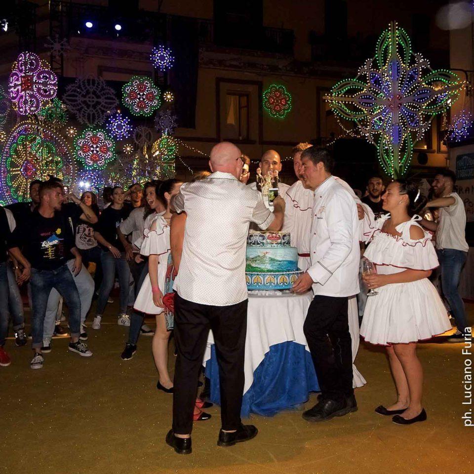 la festa di Dolce e Gabbana a Napoli Borgo Marinari 15