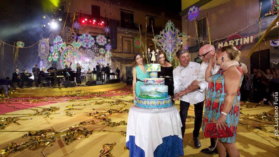 la festa di Dolce e Gabbana a Napoli Borgo Marinari 16