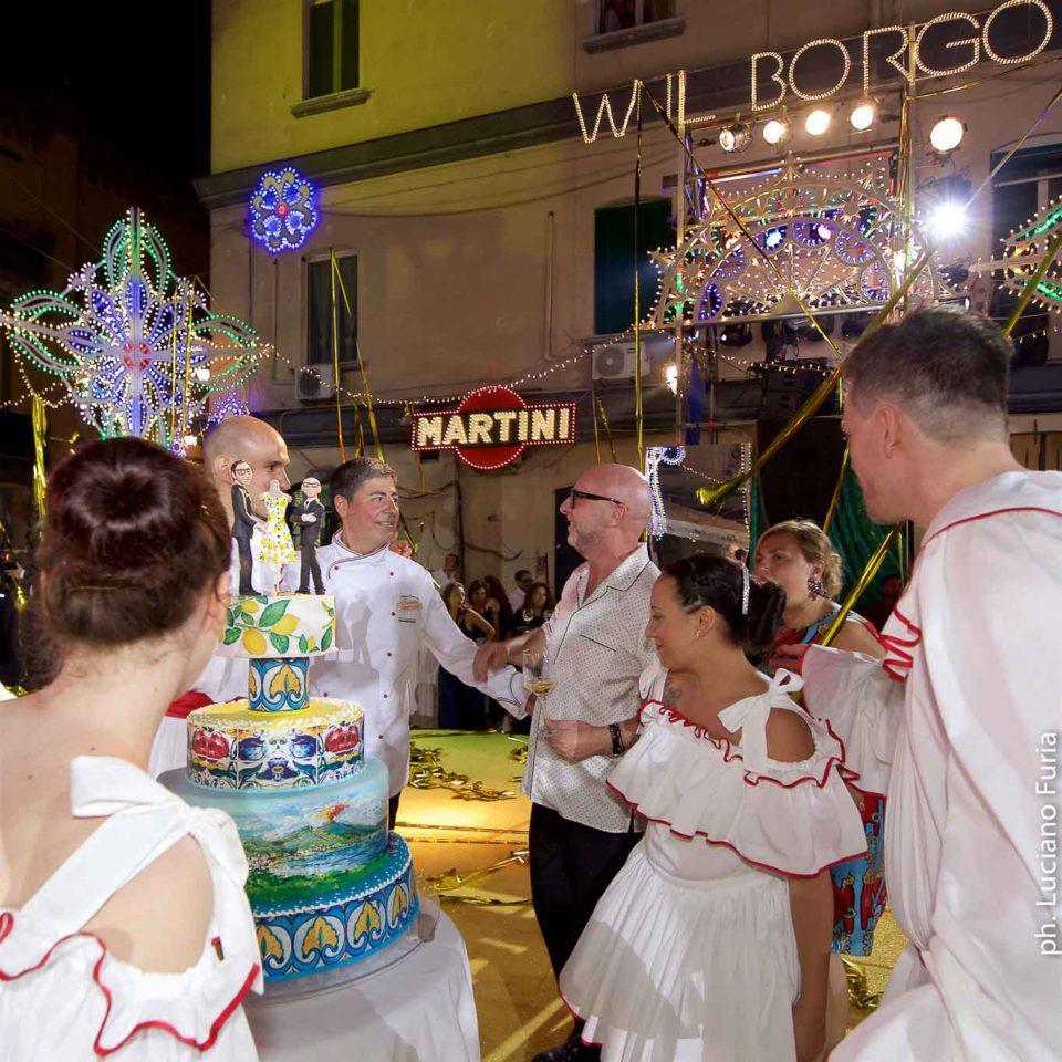 la festa di Dolce e Gabbana a Napoli Borgo Marinari 17