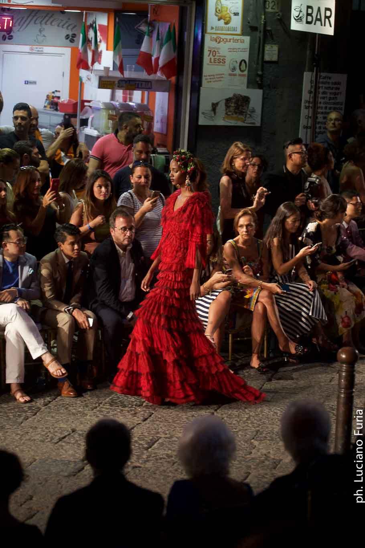 la festa di Dolce e Gabbana a Napoli Borgo Marinari 2