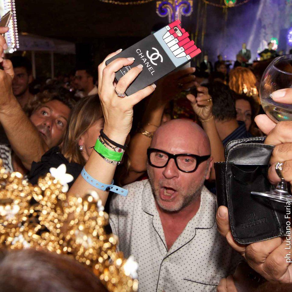 la festa di Dolce e Gabbana a Napoli Borgo Marinari 20