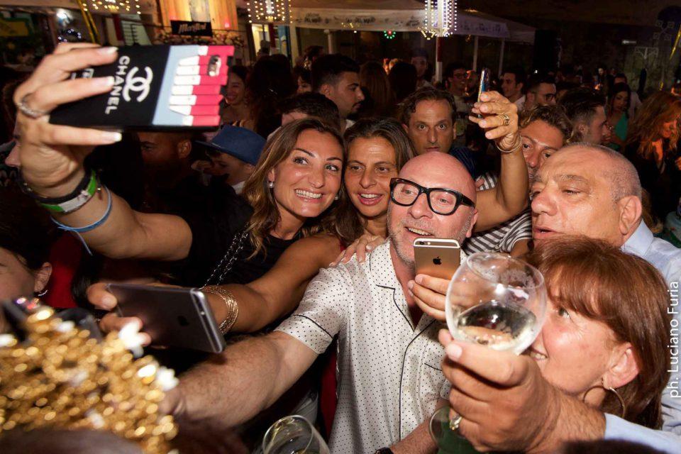 la festa di Dolce e Gabbana a Napoli Borgo Marinari 21