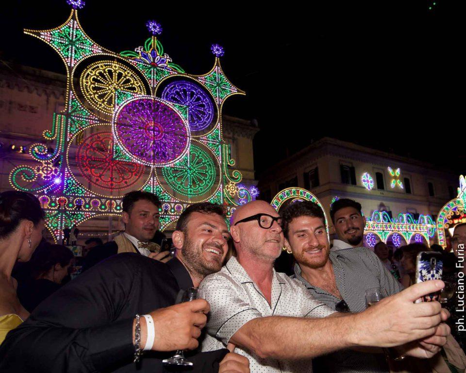 la festa di Dolce e Gabbana a Napoli Borgo Marinari 22