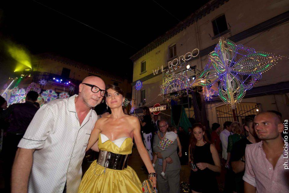 la festa di Dolce e Gabbana a Napoli Borgo Marinari 23