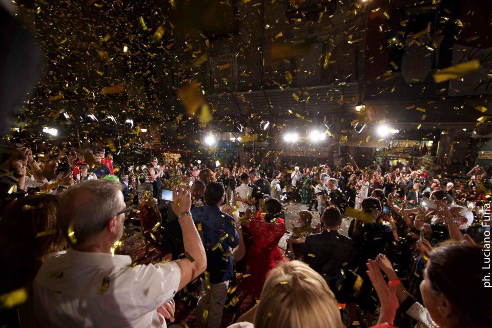 la festa di Dolce e Gabbana a Napoli Borgo Marinari 4