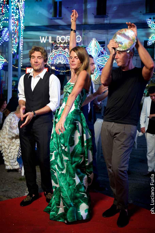 la festa di Dolce e Gabbana a Napoli Borgo Marinari 6