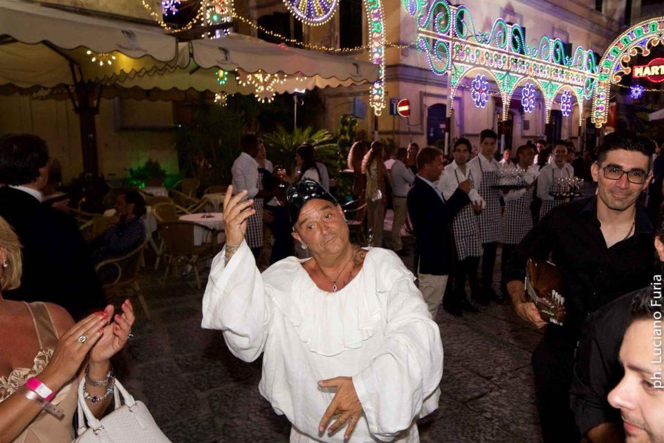 la festa di Dolce e Gabbana a Napoli Borgo Marinari 8
