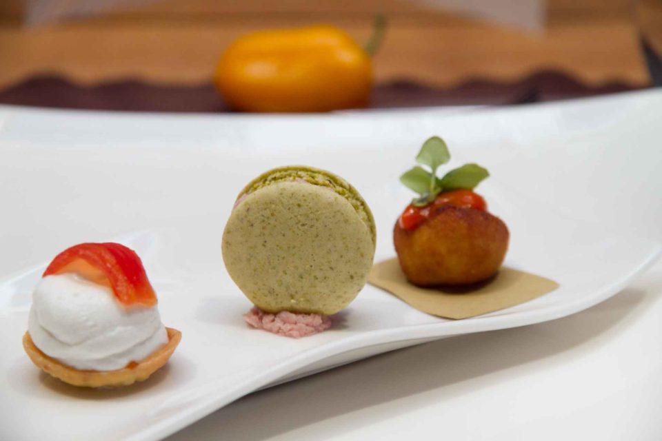macaron pistacchio mortadella