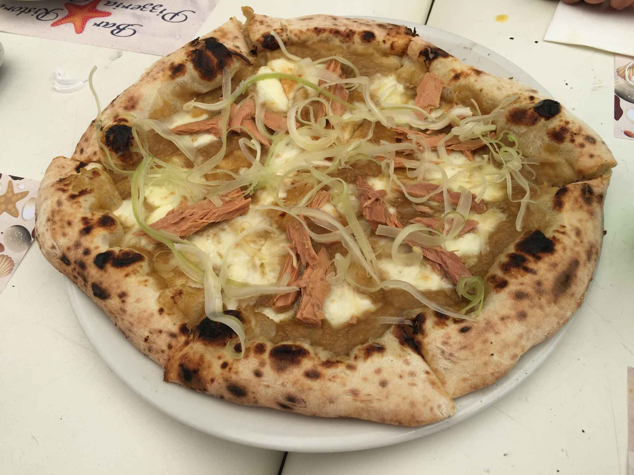 pizza Franco Pepe Alletterata Mister Marlin