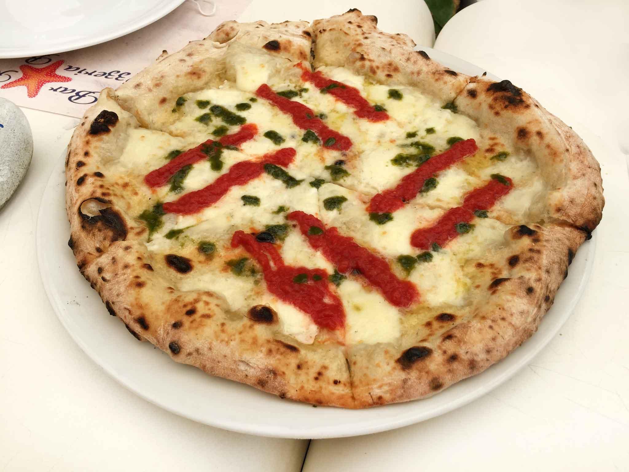 pizza Franco Pepe margherita sbagliata