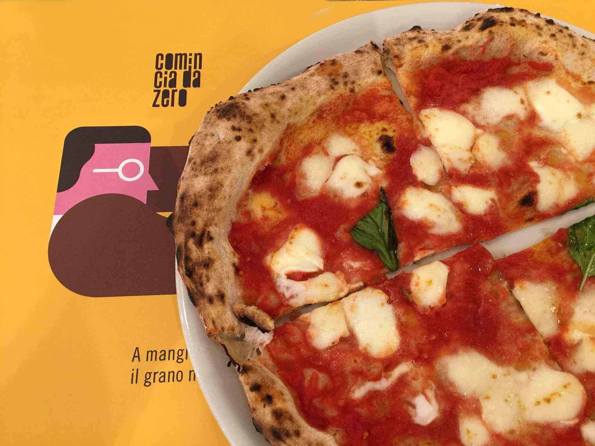 pizza Margherita Da Zero pizzeria Agropoli
