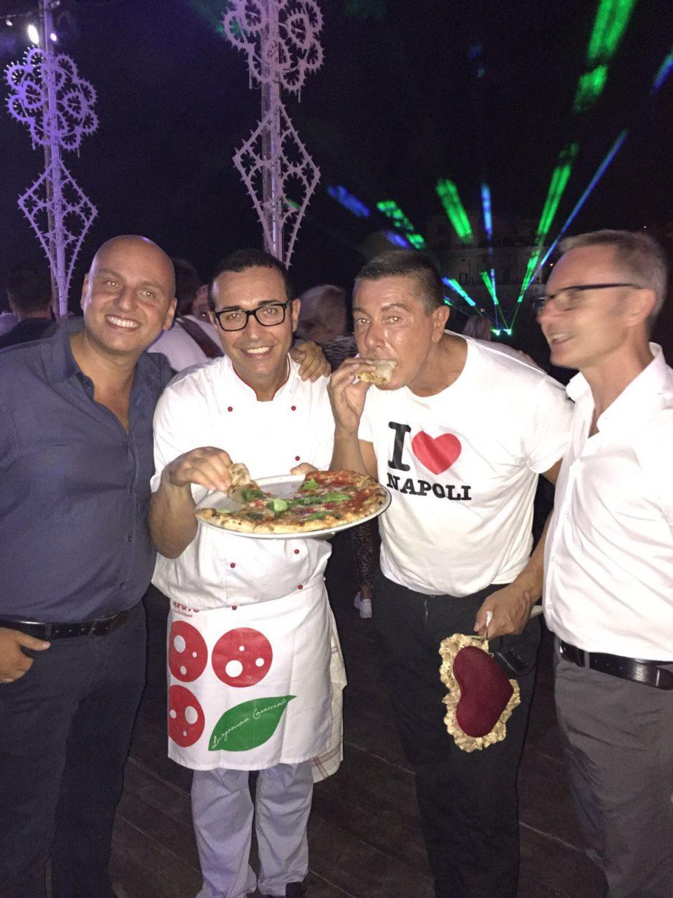 pizza Sorbillo Stefano Gabbana