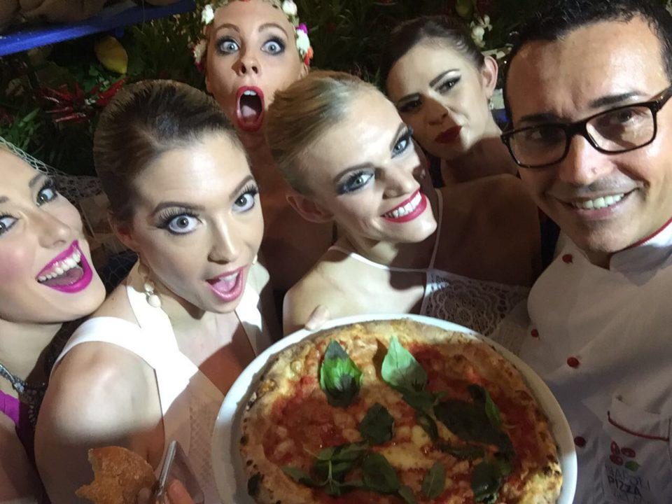 pizza Sorbillo party Dolce e Gabbana
