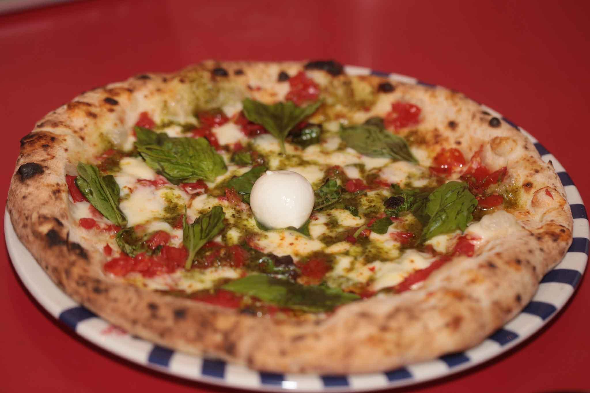 pizza Sorbillo pesto Nonna Carolina
