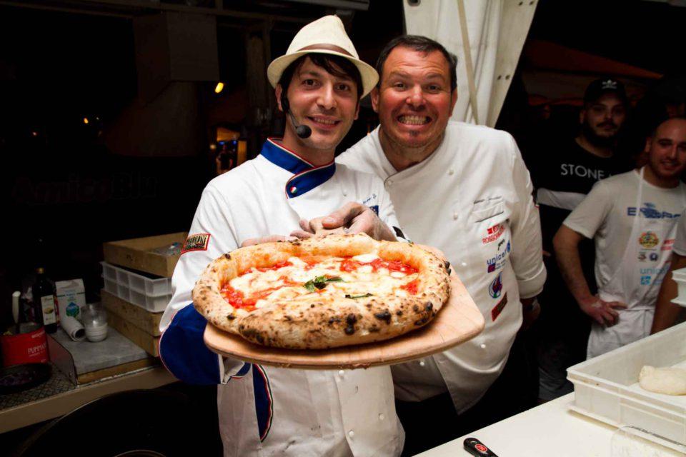 pizza canotto Salvatore Lioniello Antonio Sorrentino