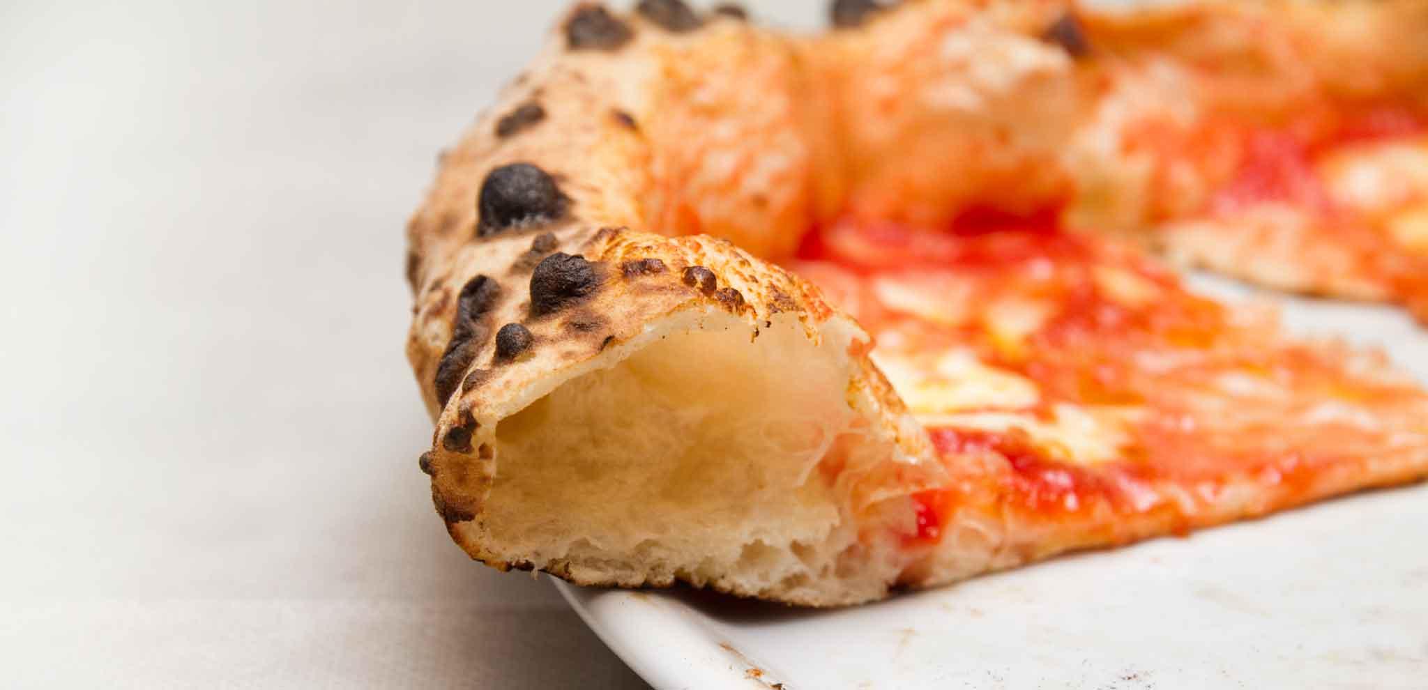 pizza e cornicione alveolato