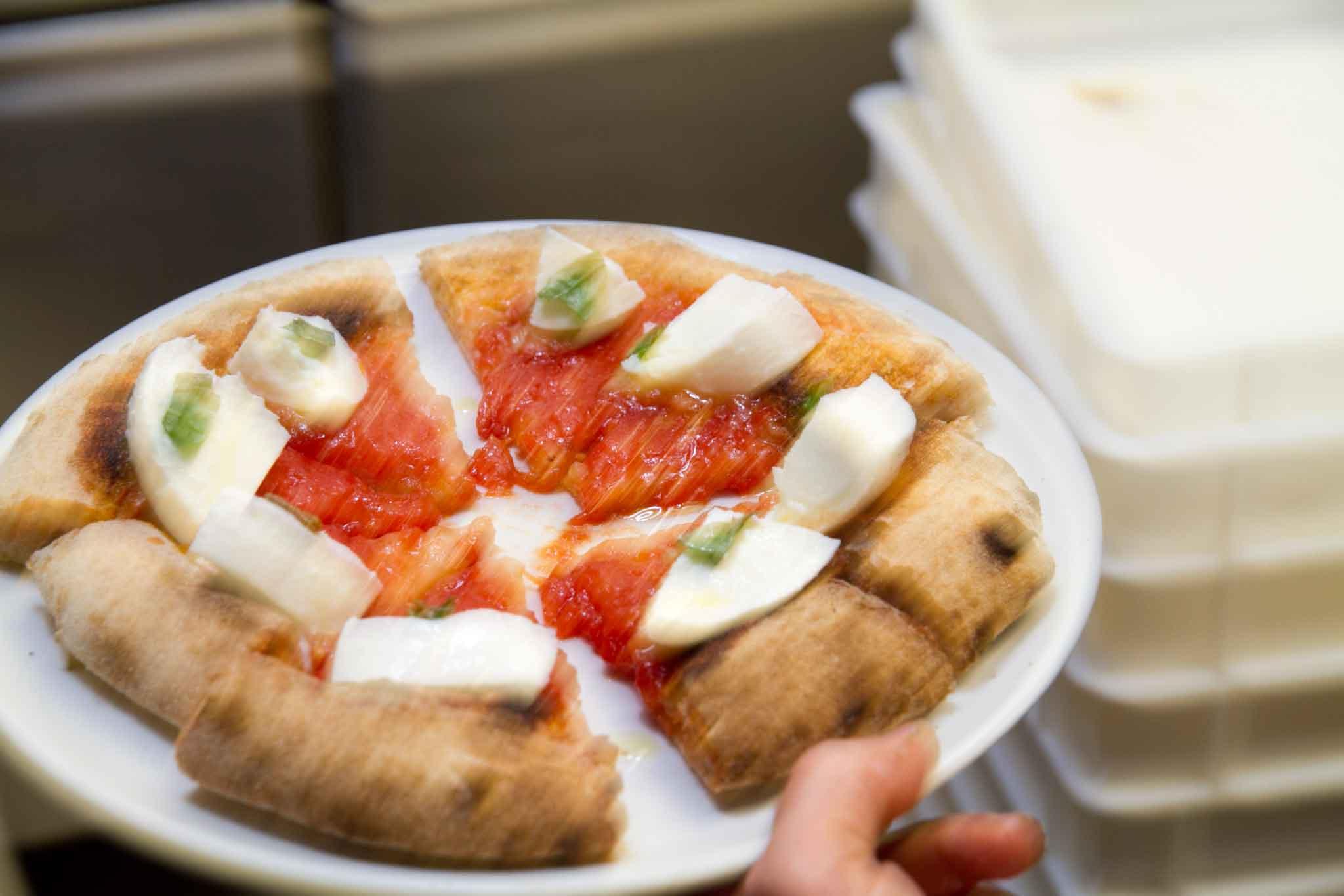 pizza margherita Berberè