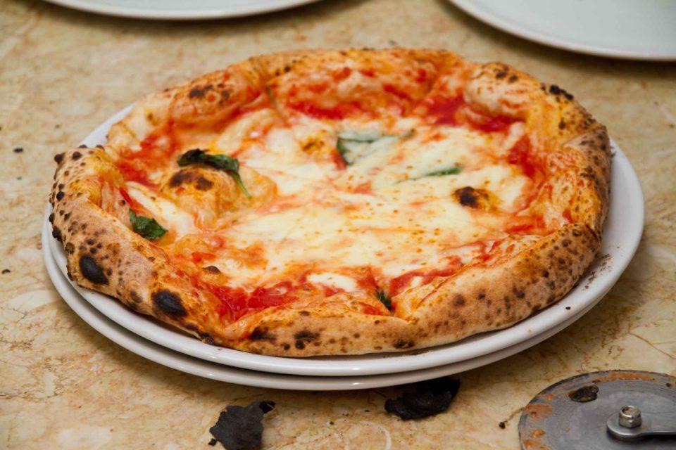 pizza margherita La Spiga Pignataro Maggiore
