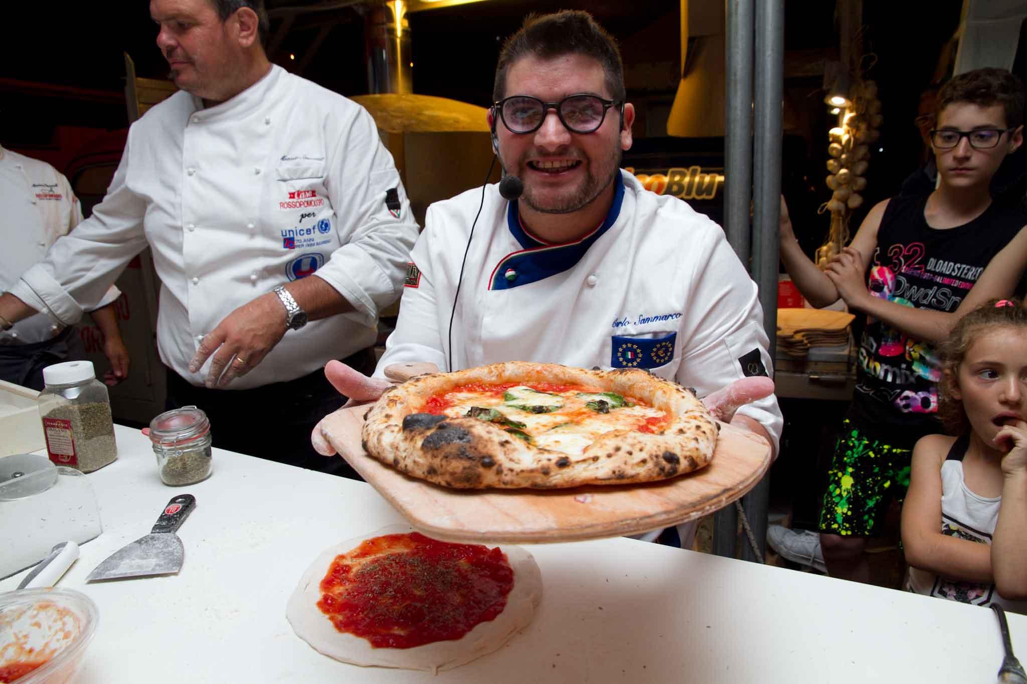 pizza margherita carlo sammarco