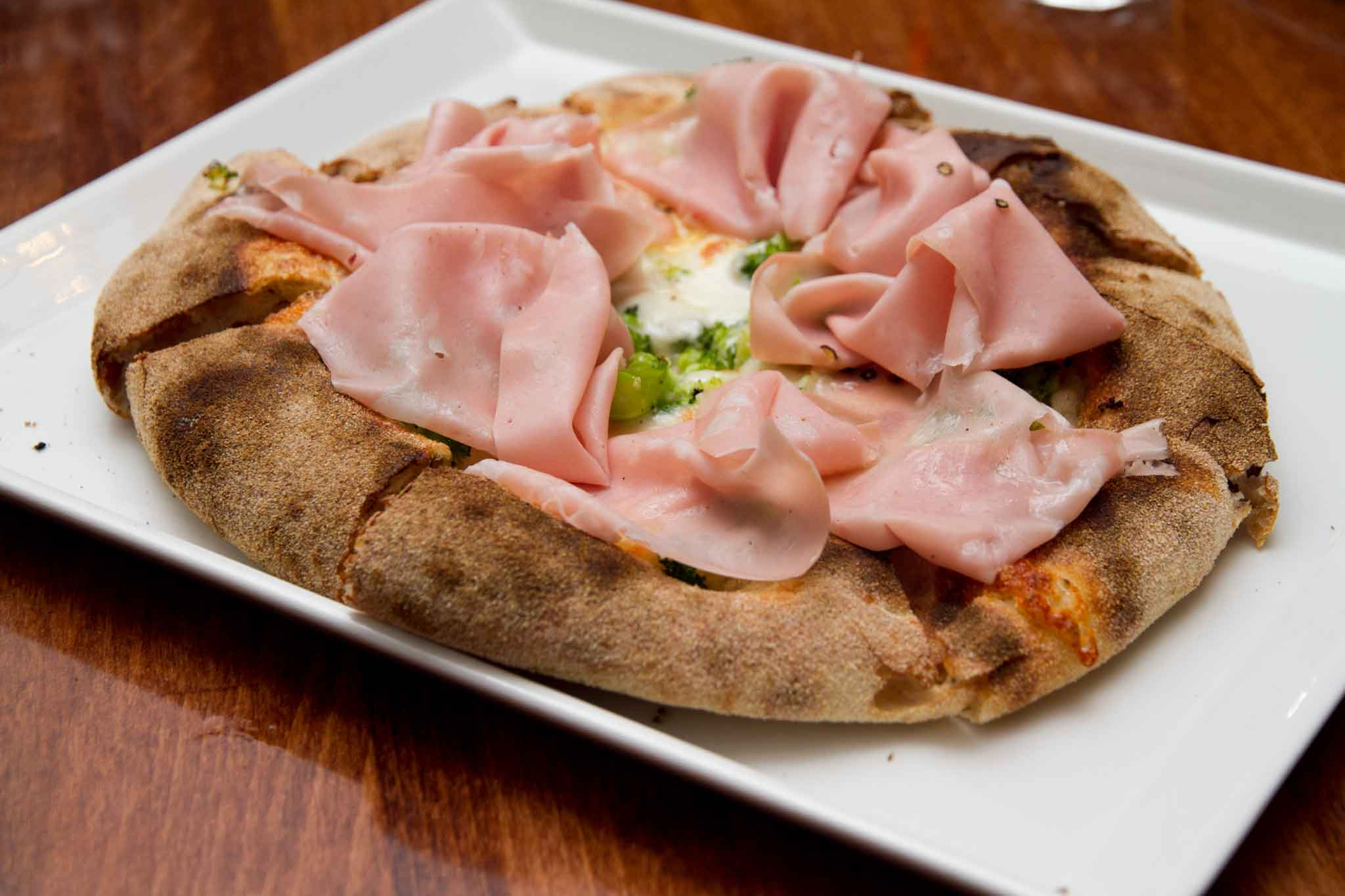 pizza mortadella Berberè