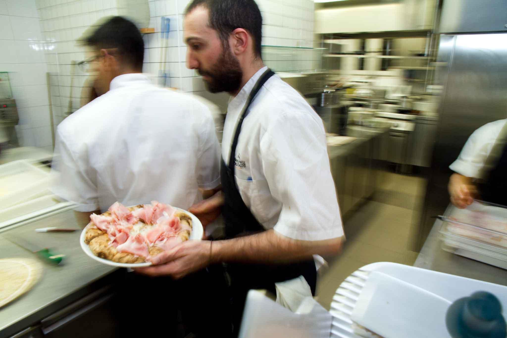 pizza servizio Berberè