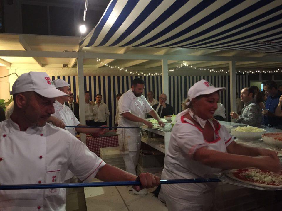pizzaioli festa Dolce&Gabbana