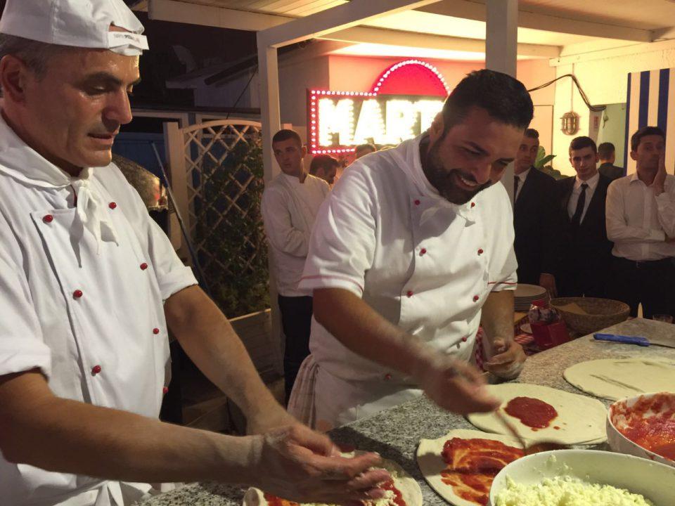 pizze per Dolce&Gabbana
