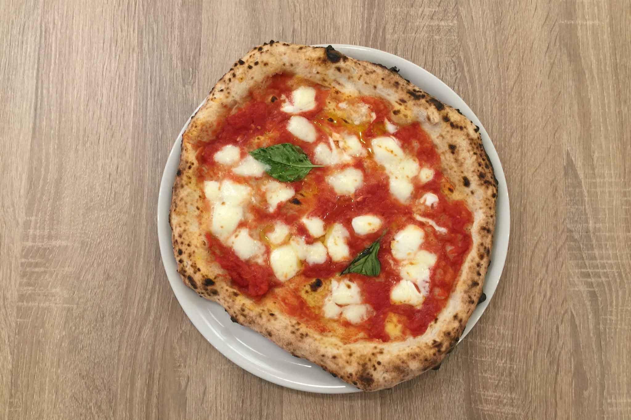 pizzeria Da Zero Agropoli pizza margherita