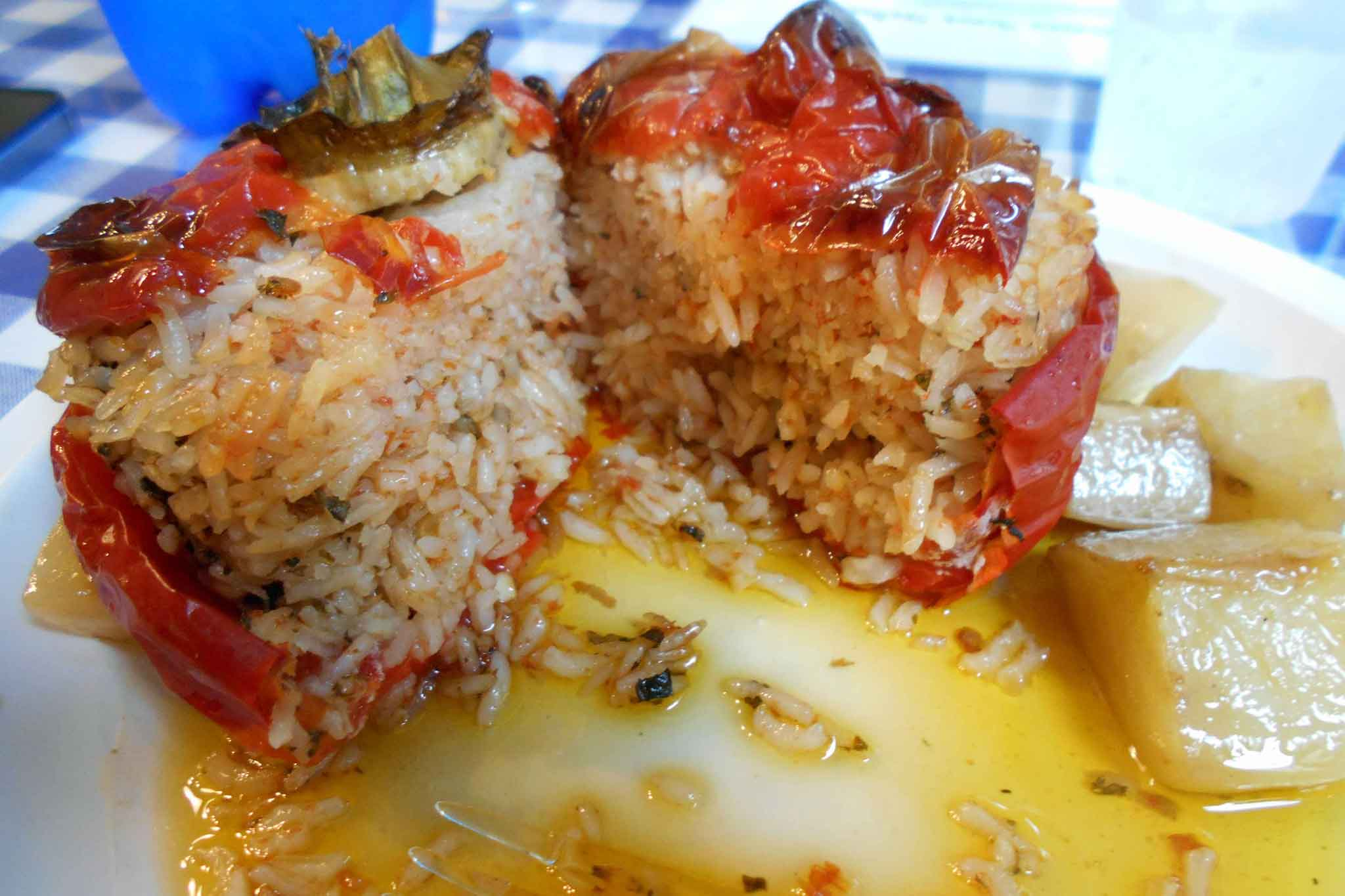 pomodoro ripieno riso
