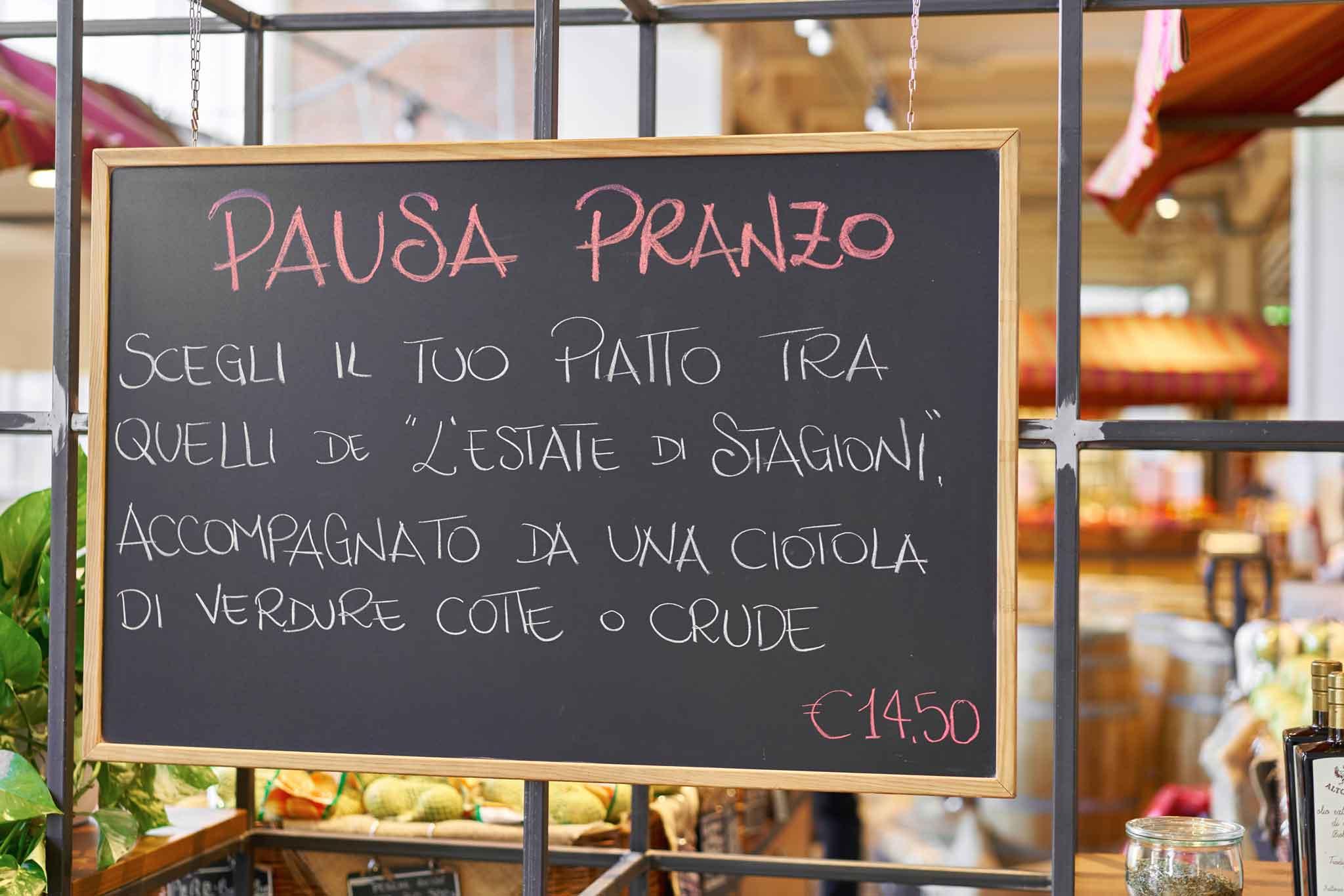 prezzo pranzo ristorante Stagioni Roma