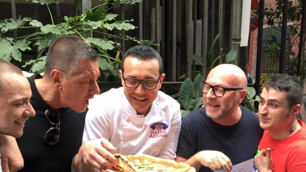 sorbillo dolce gabbana pizza