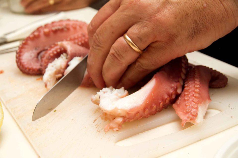 taglio tentacoli